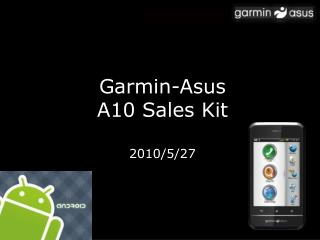 Garmin-Asus A10 Sales Kit