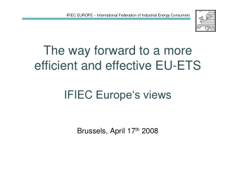 View of the EESC on EU Energy Policies