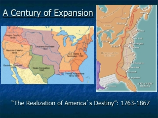 The Jacksonian Age: 1820-1850
