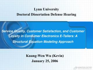 Lynn University Doctoral Dissertation Defense Hearing