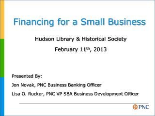 Financing for a Small Business