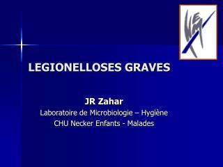 LEGIONELLOSES GRAVES