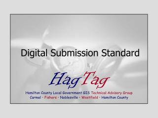 Digital Submission Standard