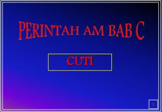 Ppt Perintah Am Bab C Powerpoint Presentation Free Download Id 460897