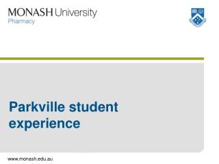 Parkville student experience