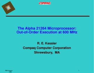 The Alpha 21264 Microprocessor: Out-of-Order Execution at 600 MHz