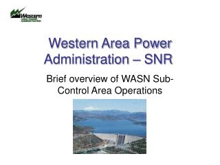 Western Area Power Administration – SNR