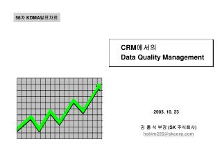 CRM 에서의  Data Quality Management