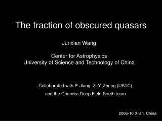 The fraction of obscured quasars