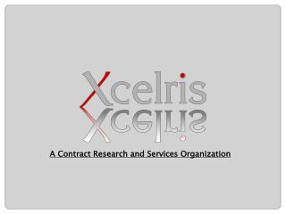 A Contract Research and Services Organization