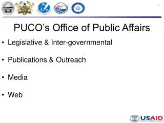 PUCO's Office of Public Affairs