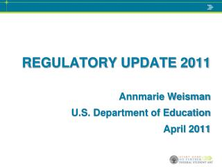 REGULATORY UPDATE 2011