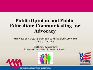 Public Opinion and Public Education: Communicating for Advocacy