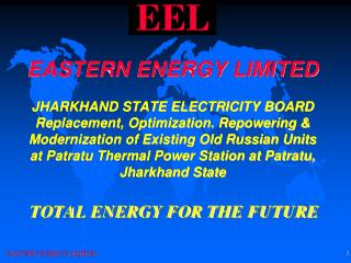 TOTAL ENERGY FOR THE FUTURE