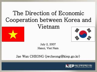 The Direction of Economic Cooperation between Korea and Vietnam