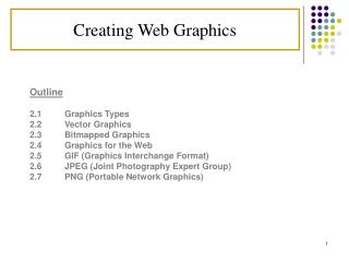 Creating Web Graphics