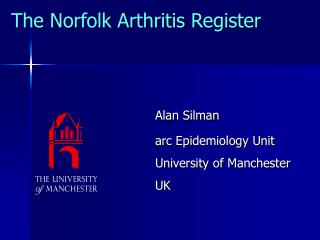 The Norfolk Arthritis Register