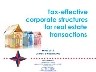 Tax-effective  corporate structures