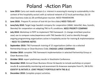 Poland  -Action Plan