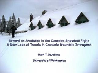 Toward an Armistice in the Cascade Snowball Fight: