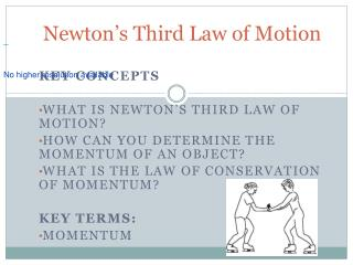 Newton s Third Law of Motion