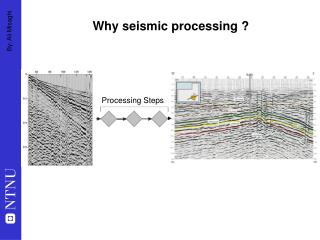 Why seismic processing ?