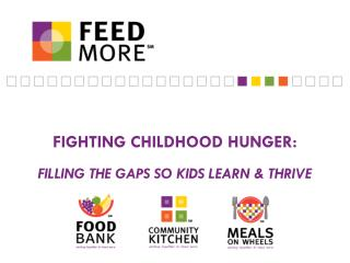 Fighting Childhood hunger: filling the gaps so kids learn & thrive