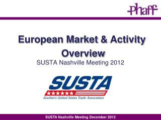 SUSTA Nashville Meeting 2012