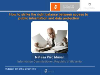 How to strike the right balance between access to public information and data protection