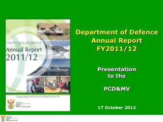 Department of Defence  Annual Report  FY2011/12