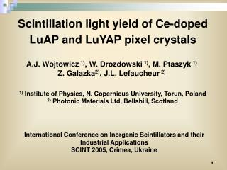 Scintillation light yield of Ce-doped LuAP and LuYAP pixel crystals