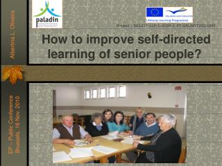 How to improve self-directed learning of senior people?