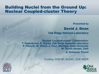 Building Nuclei from the Ground Up: Nuclear Coupled-cluster Theory