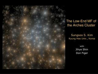 The Low-End MF of the Arches Cluster