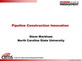 Pipeline Construction Innovation