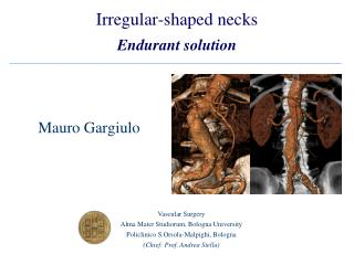 Irregular-shaped necks Endurant solution