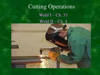 Cutting Operations