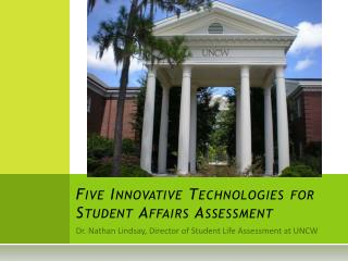 Five Innovative Technologies for Student Affairs Assessment