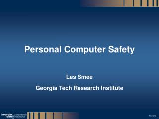 Personal Computer Safety