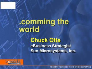 Chuck Otts eBusiness Strategist Sun Microsystems, Inc.