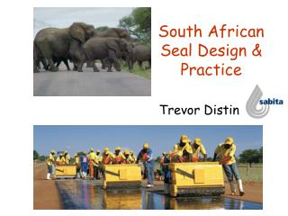 South African Seal Design & Practice
