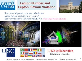 Lepton Number and Lepton Flavour Violation