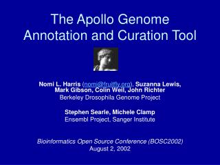 The Apollo Genome Annotation and Curation Tool