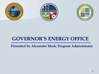 GOVERNOR'S ENERGY OFFICE