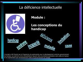 Module : Les conceptions du handicap