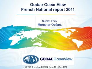 Godae-OceanView French National report 2011