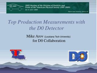 Top Production Measurements with the D0 Detector