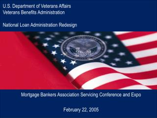 Mortgage Bankers Association Servicing Conference and Expo February 22, 2005