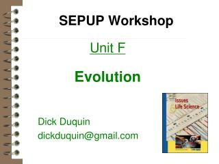 SEPUP Workshop