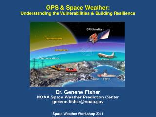 GPS & Space Weather:  Understanding the Vulnerabilities & Building Resilience Dr.  Genene  Fisher